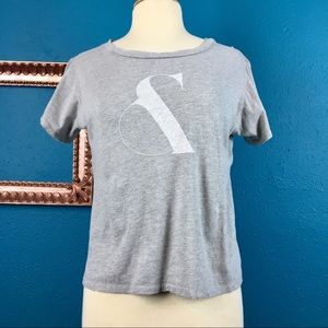 """All Things Fabulous distressed graphic """"&"""" tee S"""